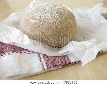 Homemade farmhouse bread