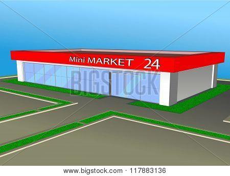 Mini Market Shop