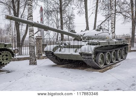 The Average Soviet Tank T-62 (year Of Production 1961-1965)