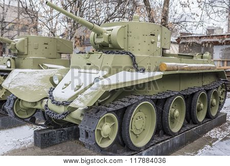 Soviet Light Tank Bt-7, Year Of Release - 1935