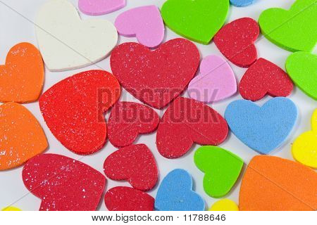Colour Of Little Heart