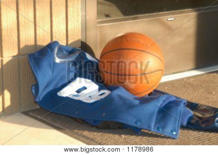 Basketball And Team Jacket