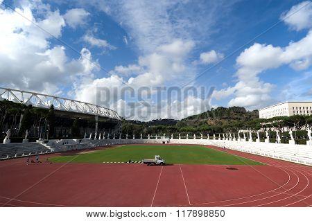 Stadio Dei Marmi, Foro Italico, Rome, Italy
