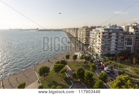 Greece Thessaloniki Nikis Boulevard