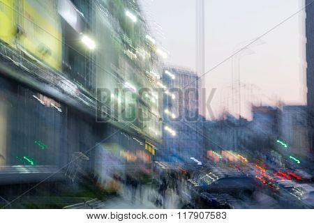 City Scape Buildings Travel Concept.