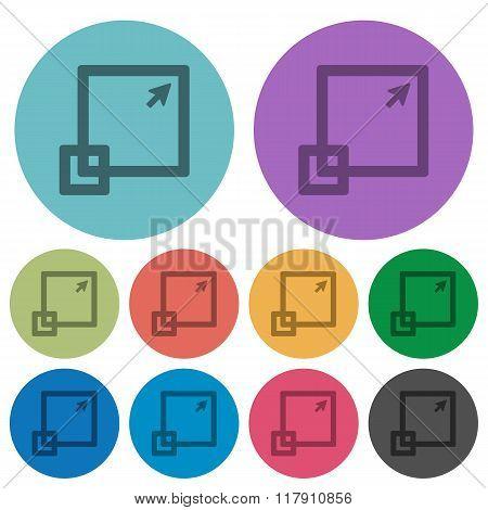 Color Maximize Window Flat Icons