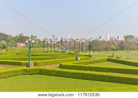 Botanical Garden In Curitiba, Parana, Brazil