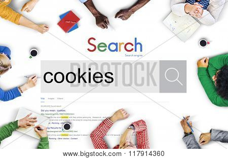 Cookies Information History Data Internet Technology Concept