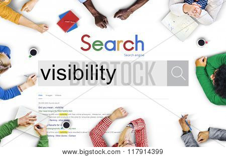 Visibility Vision Appearance Exposure Insight Clarity Concept