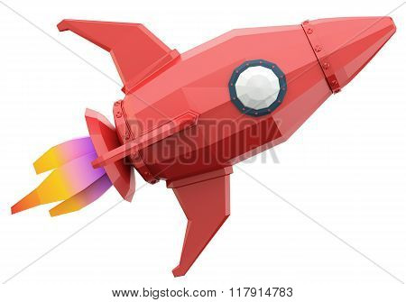 Polygonal Space Rocket