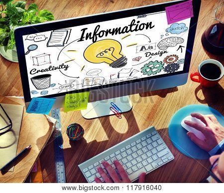 Information Data Communication Statistics Content Concept