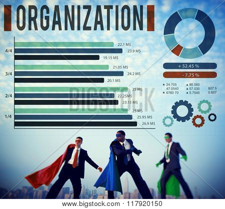 Organization Group Business Company Corporate Concept