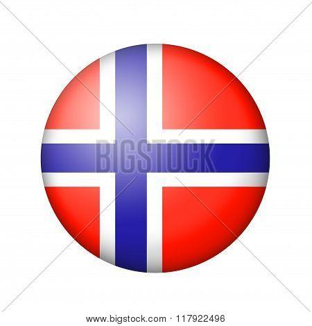 The Norwegian flag