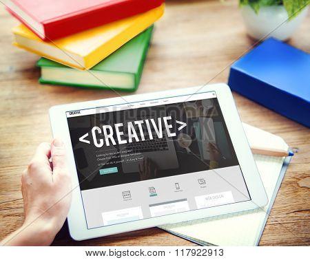 Creative ideas Imagination Innovation Inspiration Concept