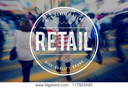 Retail Purchase Shopping Spending Buying Business Concept
