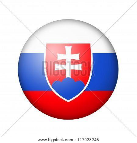 The Slovakia flag