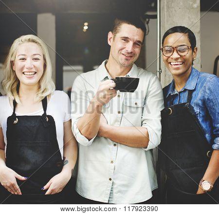 Cafeteria Barista Cafe Occupation Restaurant Concept