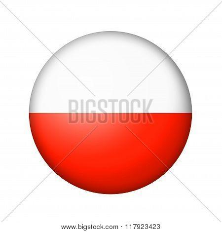 The Polish flag