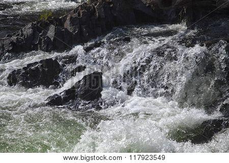 Umba river, Russia