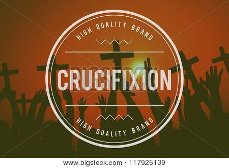 Jesus Crucifixion Cross Love Hope God Concept