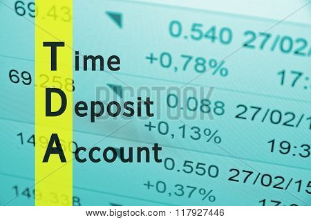 Time Deposit Account