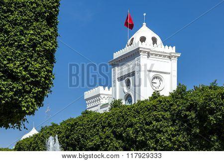 Tunisia Government Square