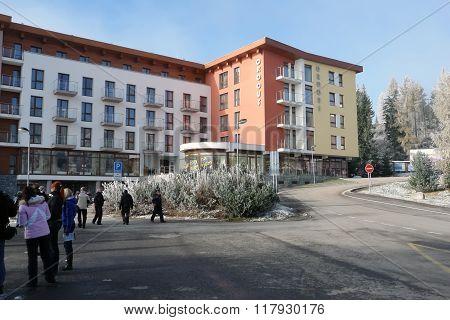 Hotel Crocus On Strbske Pleso.