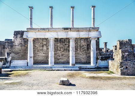 Lost city of Pompeii