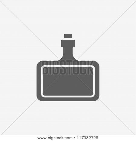 bottle of hard alcohol icon