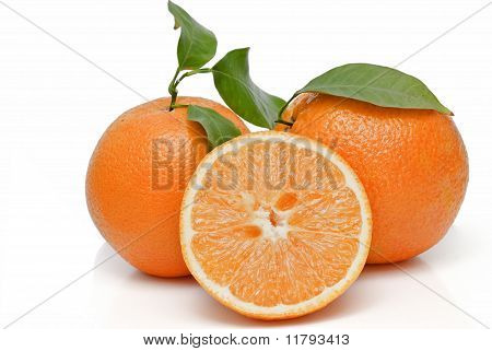 Oranges and orange juice.