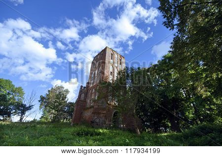 Kirch Castle Ruins Brandenburg