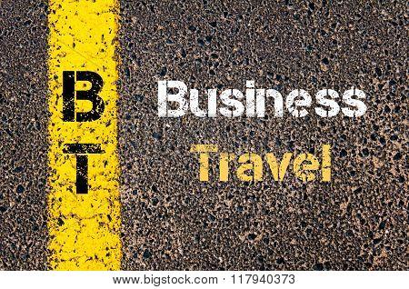 Business Acronym Bt Business Travel