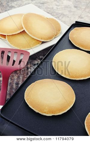 Pancakes On A Hot Griddle