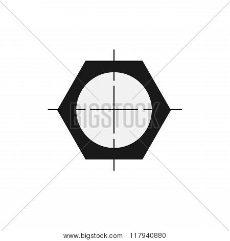 pipe drawing black  icon