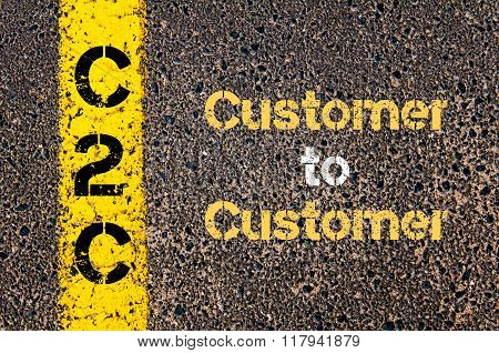 Business Acronym C2C Customer To Customer