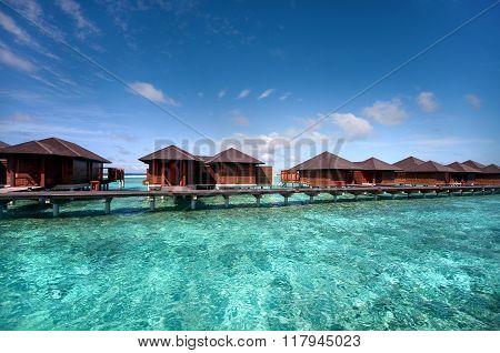 Water Villas At Maldivian Resort