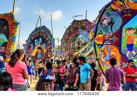 Giant Kite Festival, All Saints' Day, Guatemala