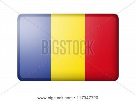 The Romania flag