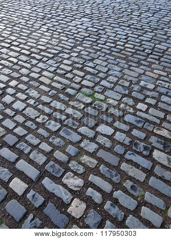 Cobbled Pathway