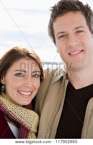 Portrait of a heterosexual couple