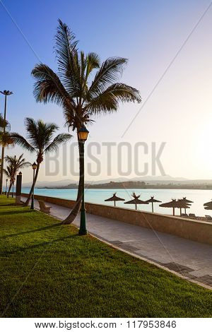 Fuerteventura Caleta del Fuste at Canary Islands of Spain