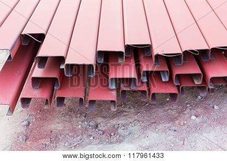 Steel Roof For Home Construction Job