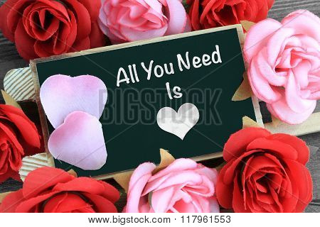 message of all you need is love