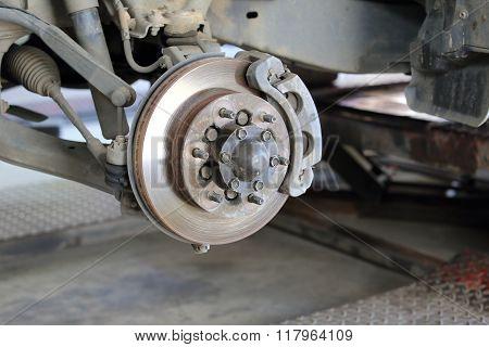 Front Disk Brake Assembly Repair