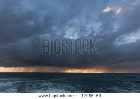 Approaching Storm Clouds