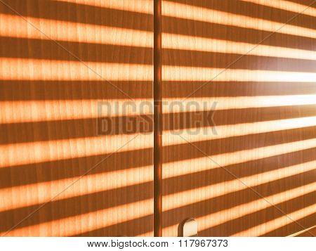 Sunlight Through Shutter Vintage