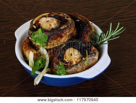 Baked Champignons