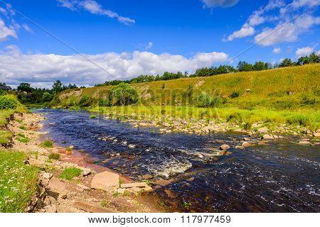 Scenic River Sablinka