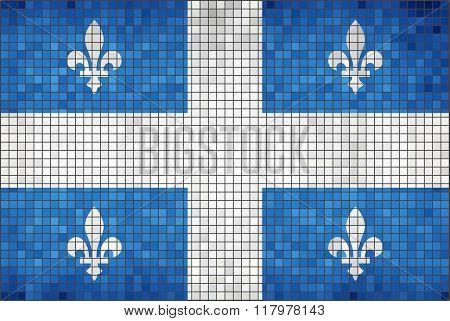 Flag Of Quebec.eps