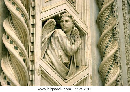 An angel on the Santa Maria del Fiore cathedral